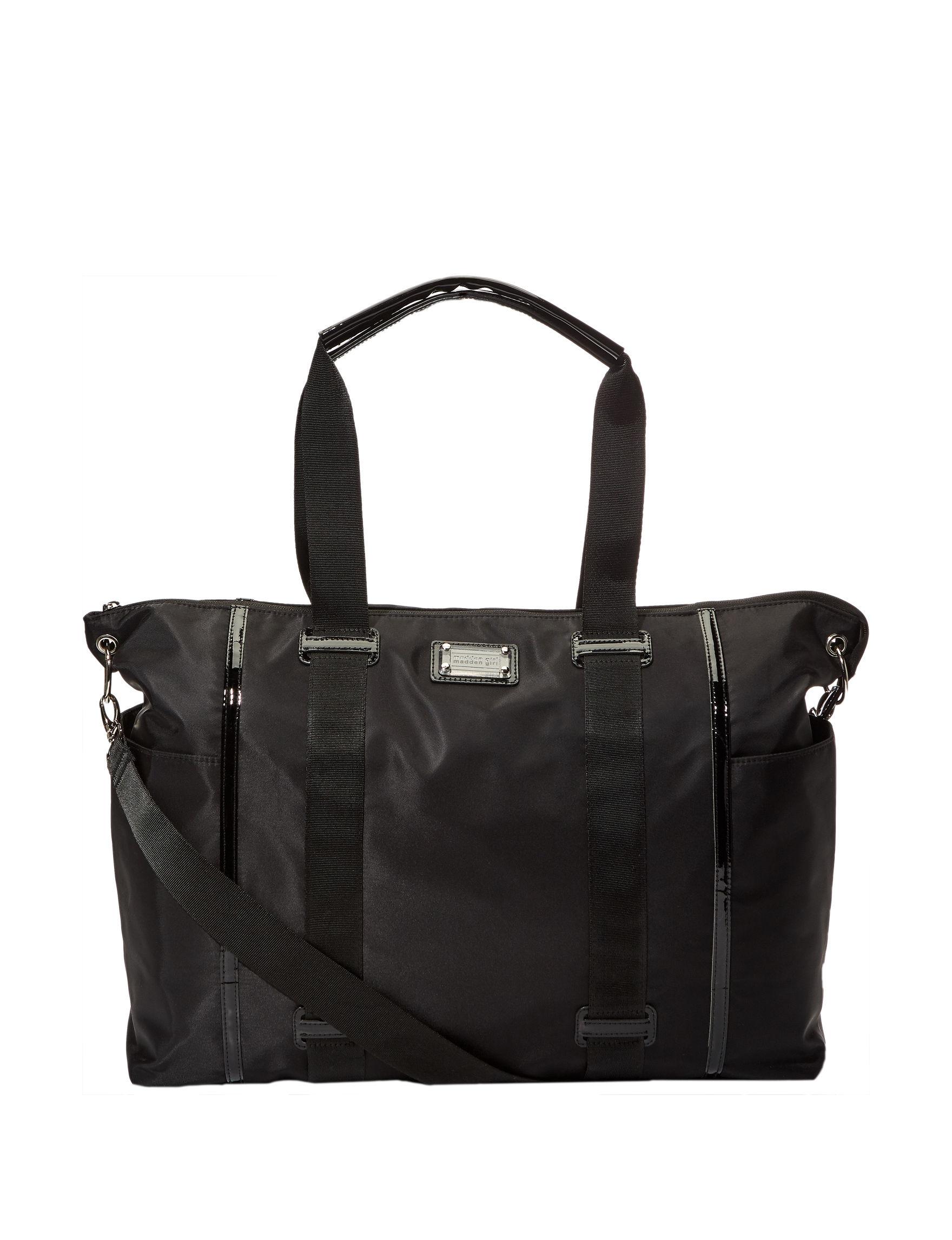 Madden Girl Black Weekend Bags