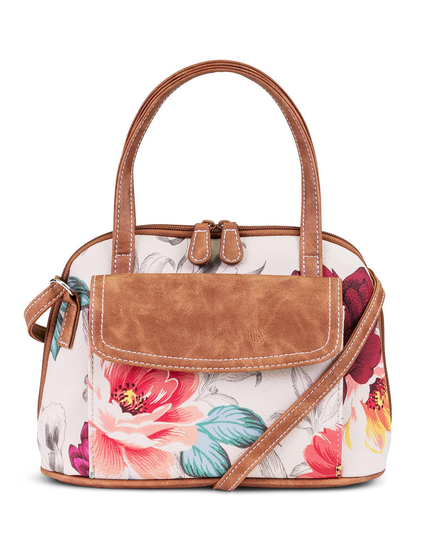 Koltov Brown Floral