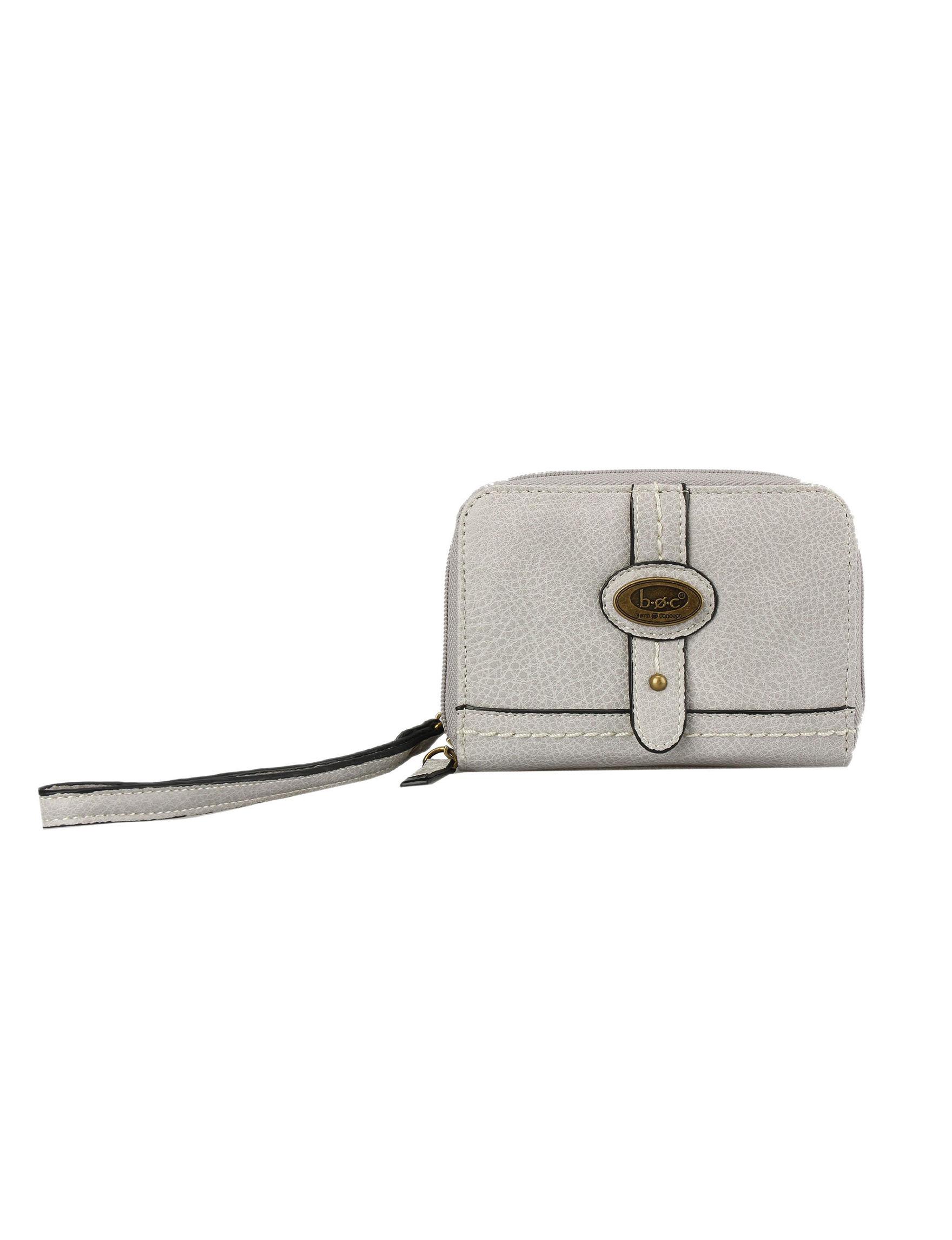 B.O.C. Grey Wallet Wristlet