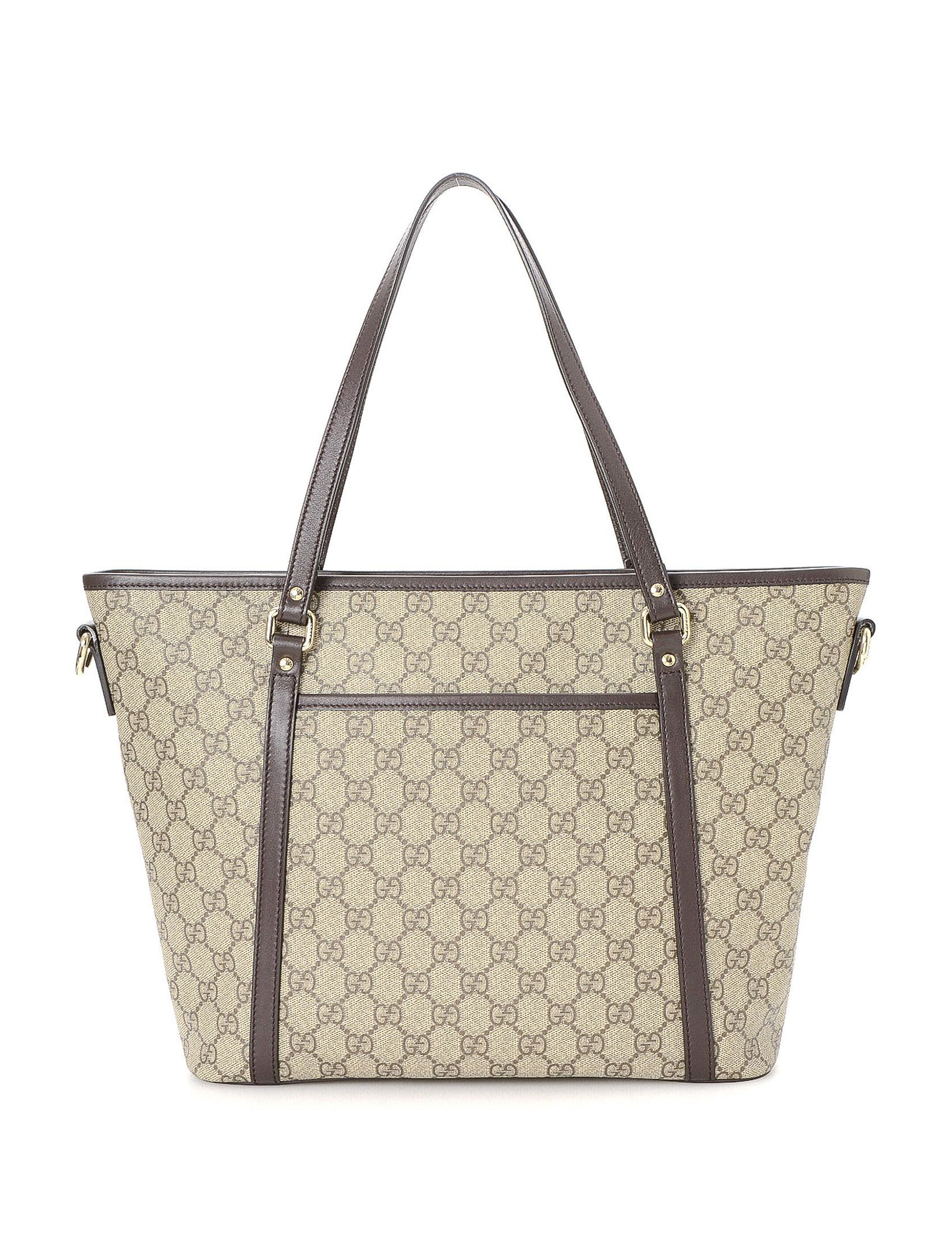 82b1256505ae Luxury Pre-Owned Gucci FF Supreme Two Way Tote - FINAL SALE   Stage ...