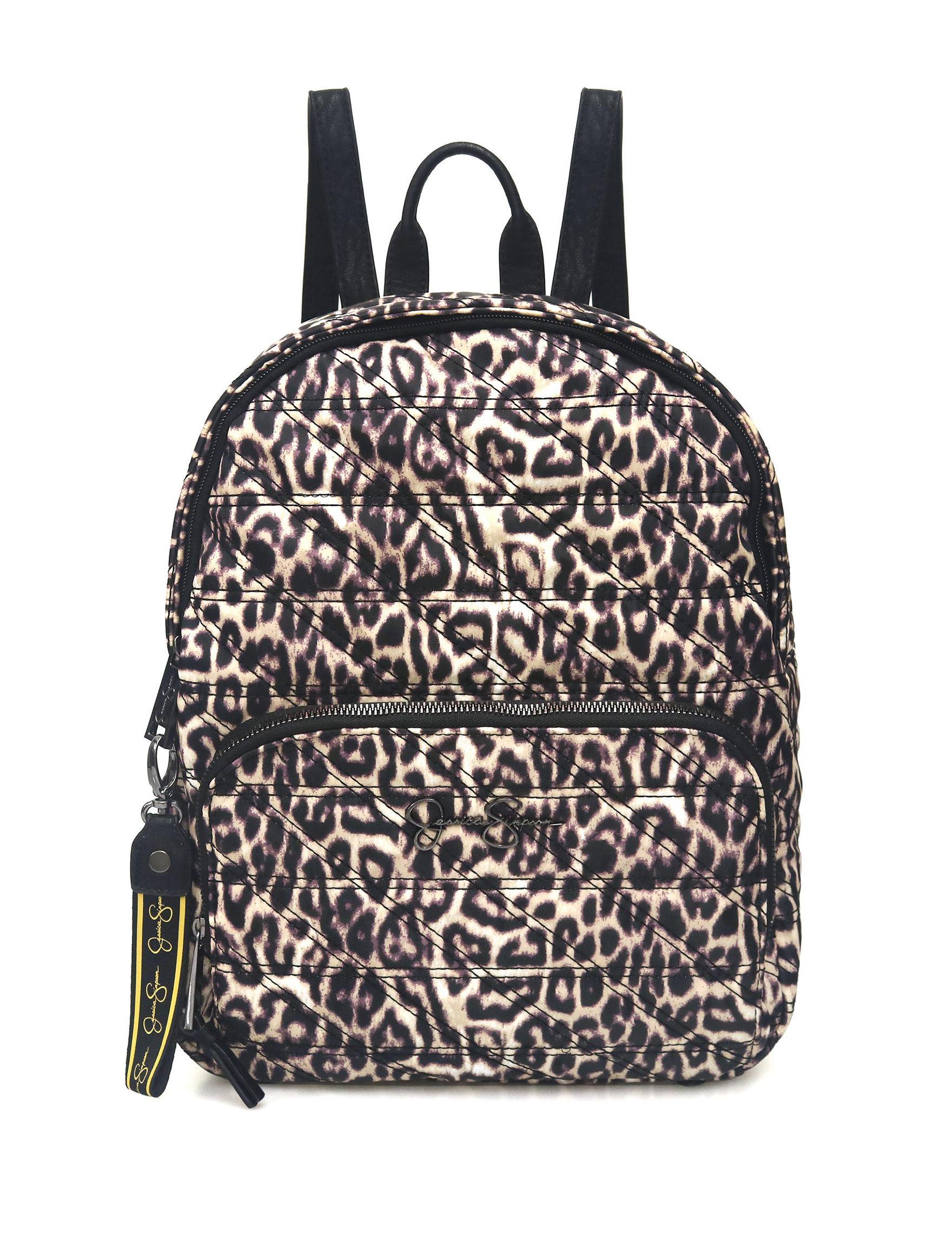 Jessica Simpson Leopard Bookbags & Backpacks