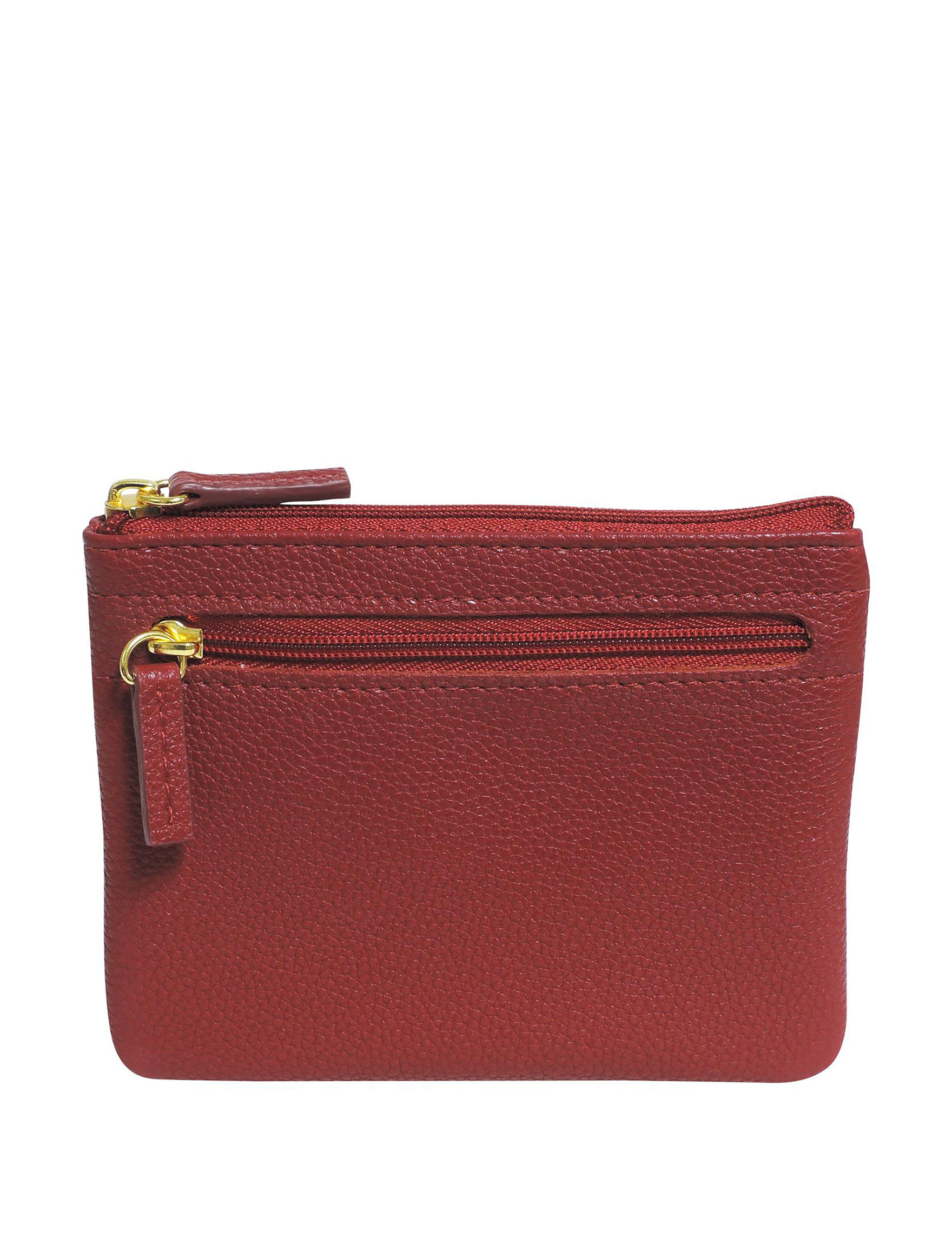 Buxton Red Wallet