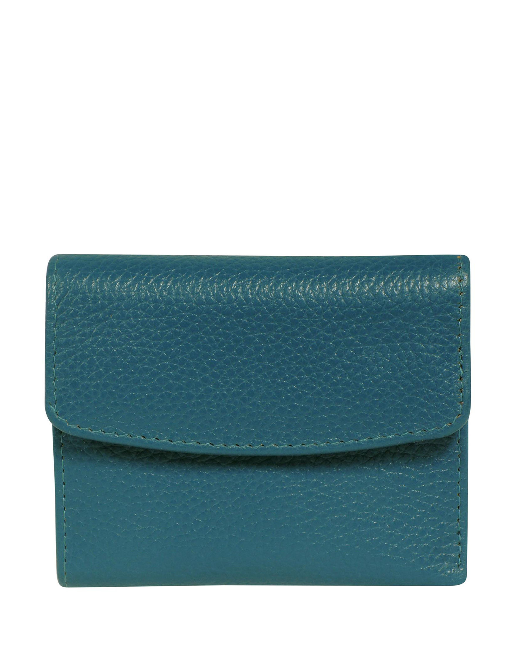 Buxton Teal Wallet
