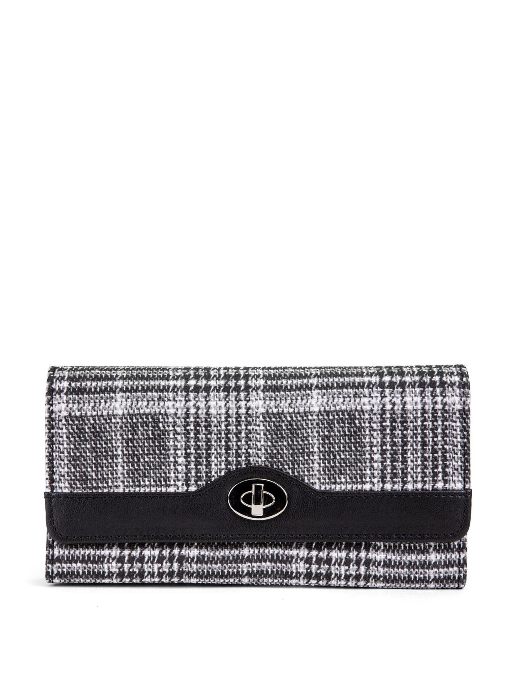 Mundi Black / White Wallet