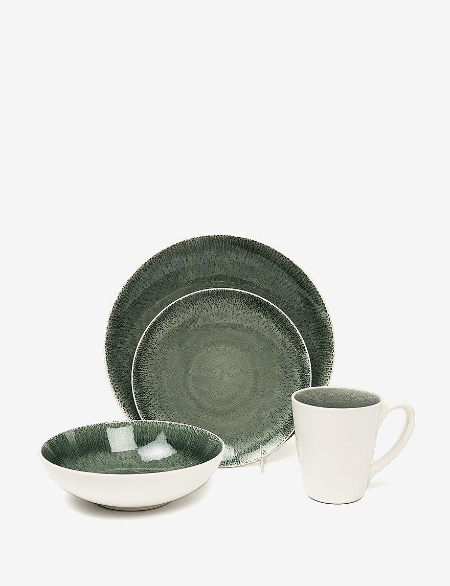 Baum Bros Imports Grey Dinnerware Sets Dinnerware
