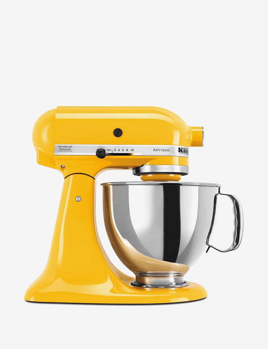 KitchenAid Yellow Mixers & Attachments Kitchen Appliances
