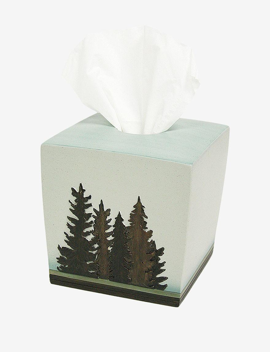 Bacova Guild  Tissue Box Covers Bath Accessories