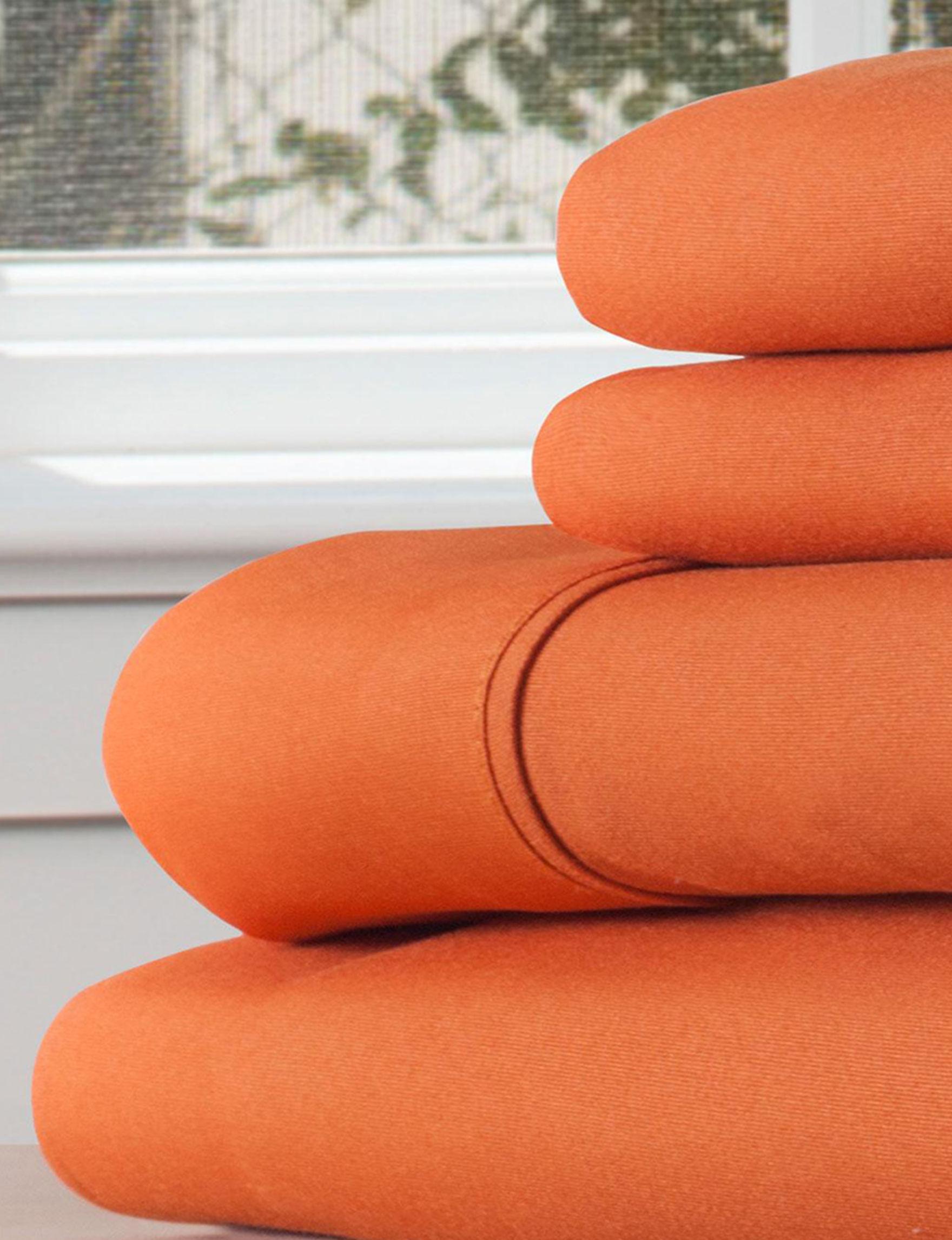 Lavish Home Rust Sheets & Pillowcases