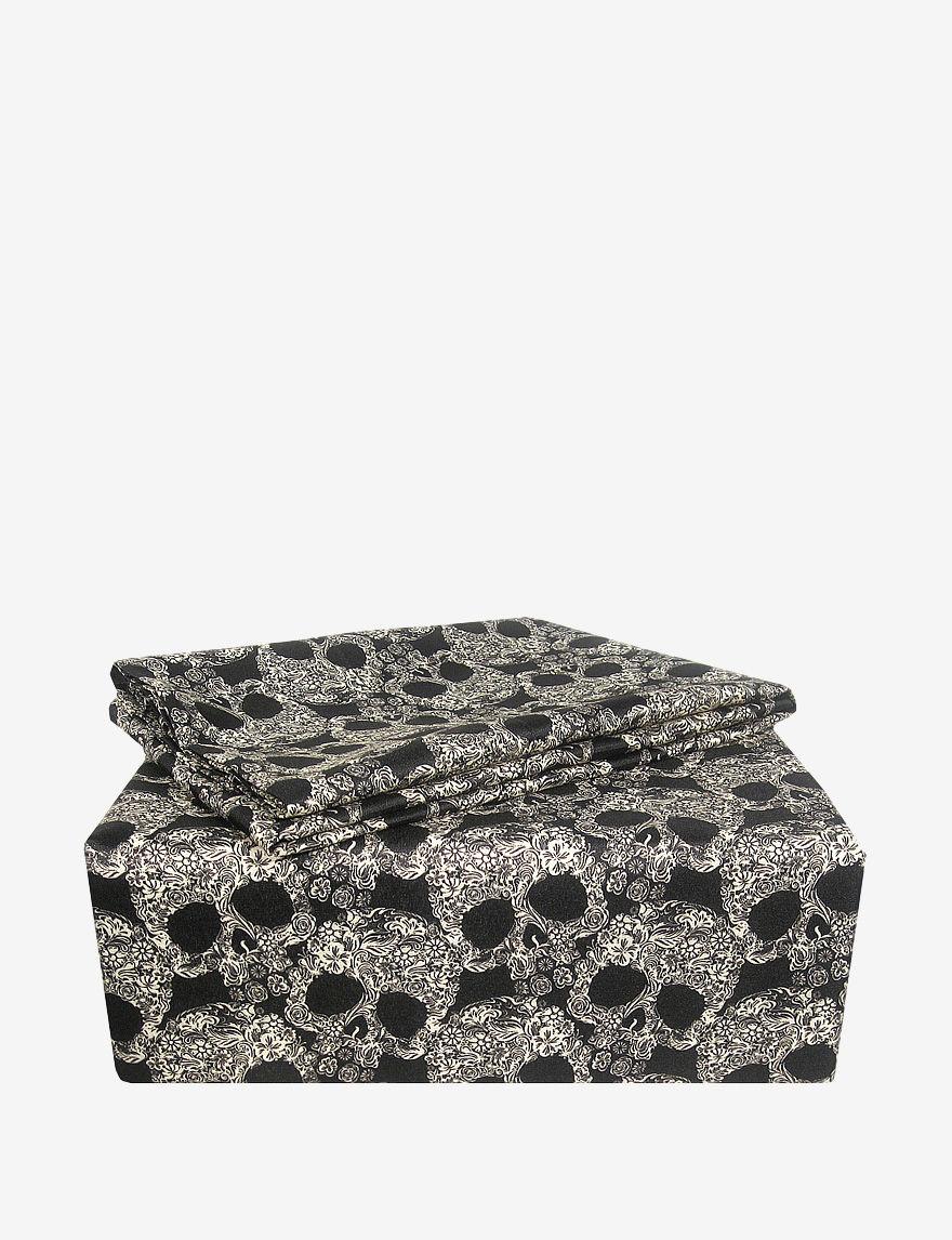 Veratex Black / Tan Sheets & Pillowcases