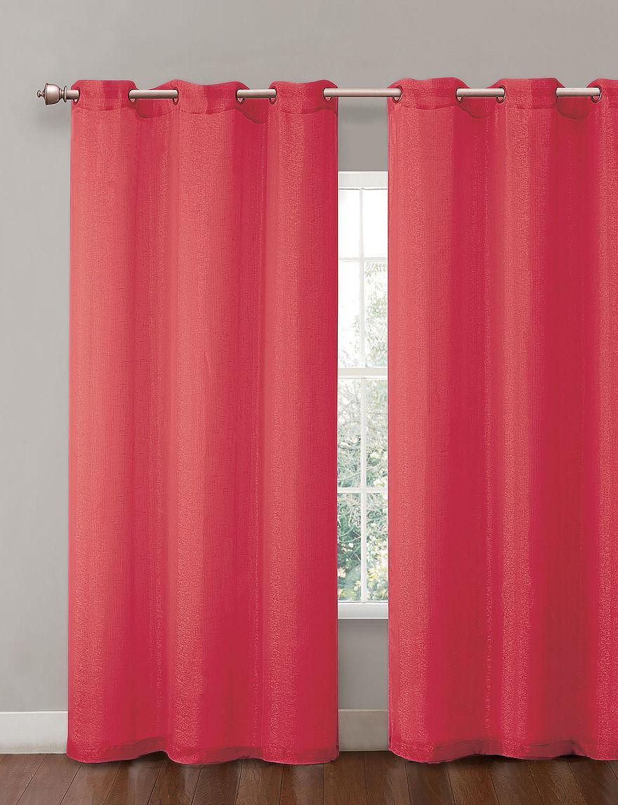 Victoria Classics Red Curtains & Drapes Window Treatments