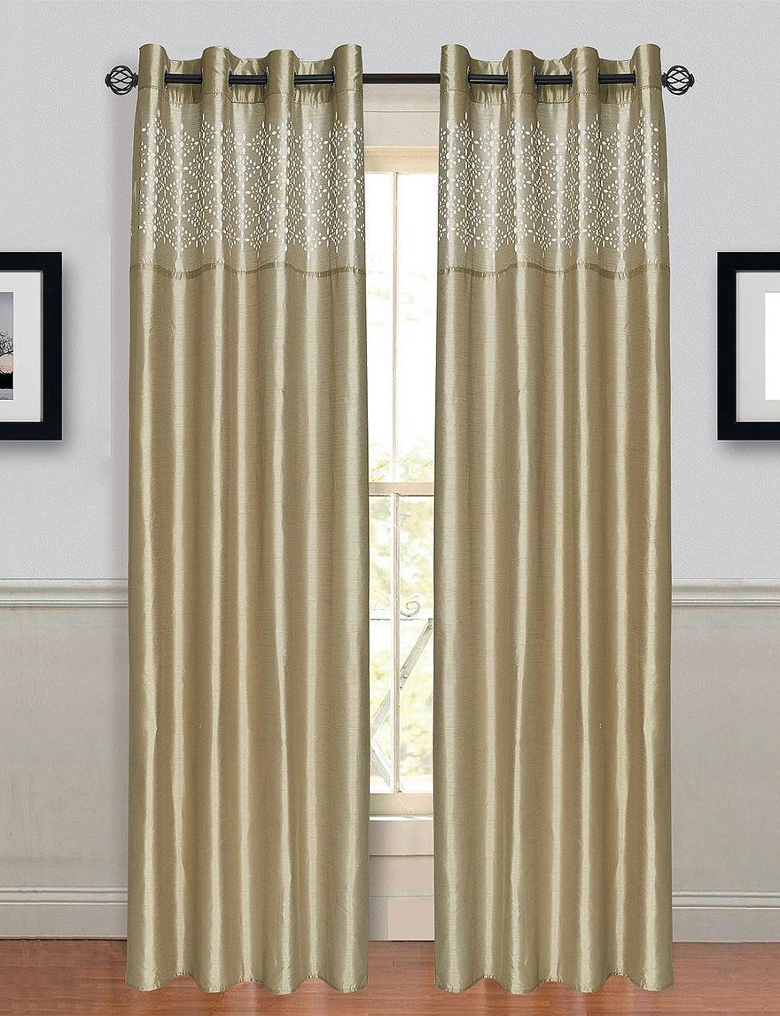 Lavish Home  Curtains & Drapes Window Treatments