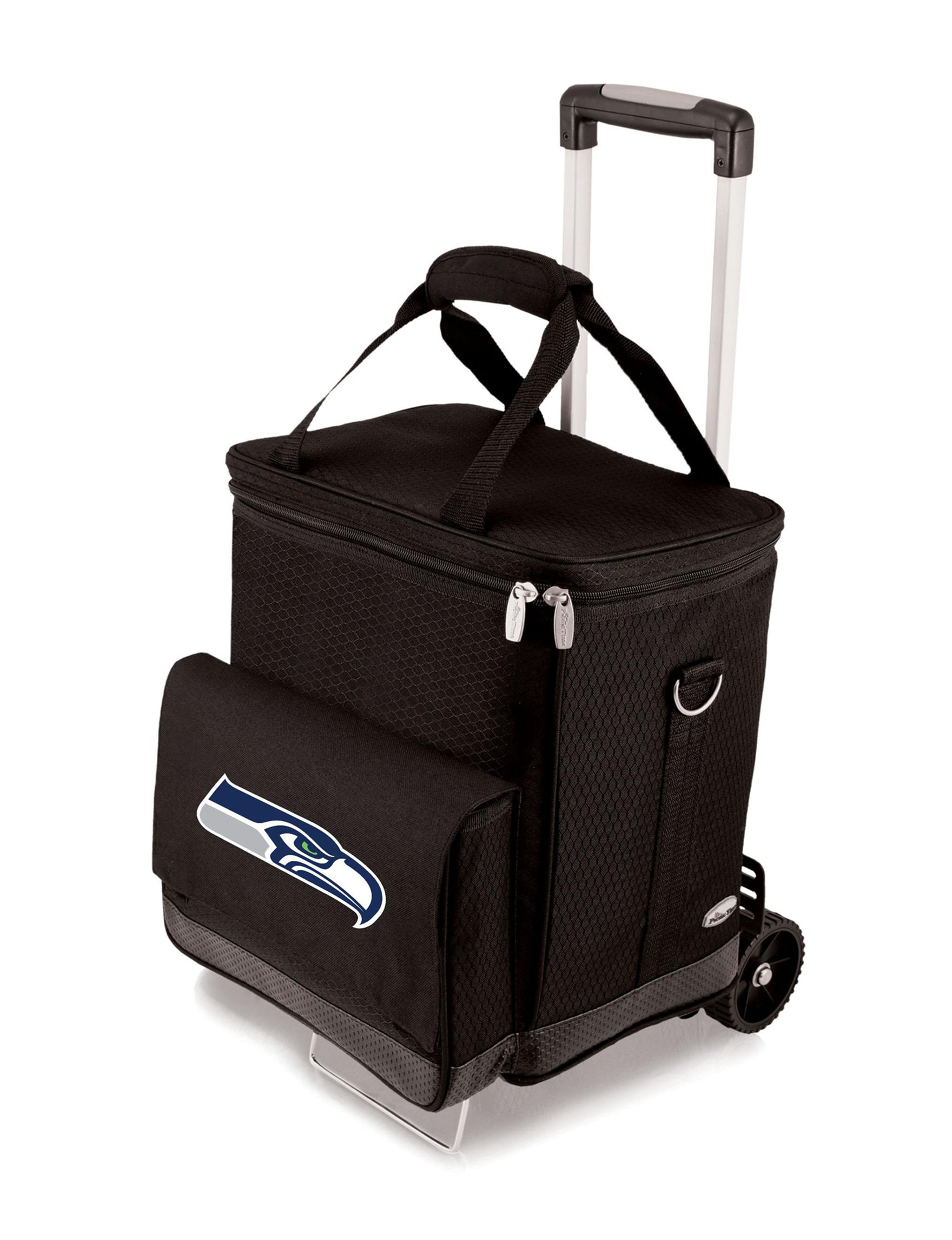 Picnic Time Black Carriers & Totes Coolers Camping & Outdoor Gear Outdoor Entertaining