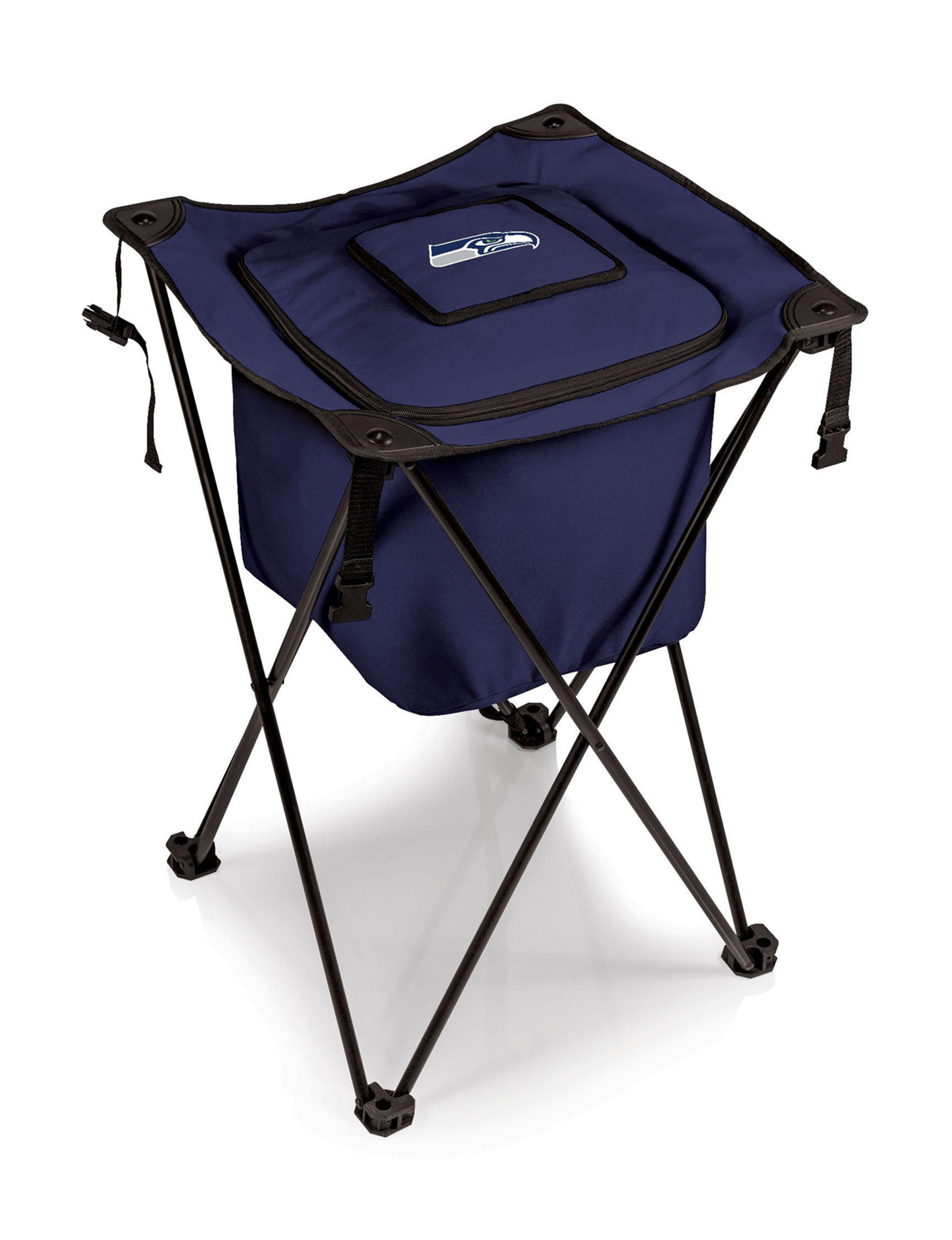 Picnic Time Navy Coolers Camping & Outdoor Gear