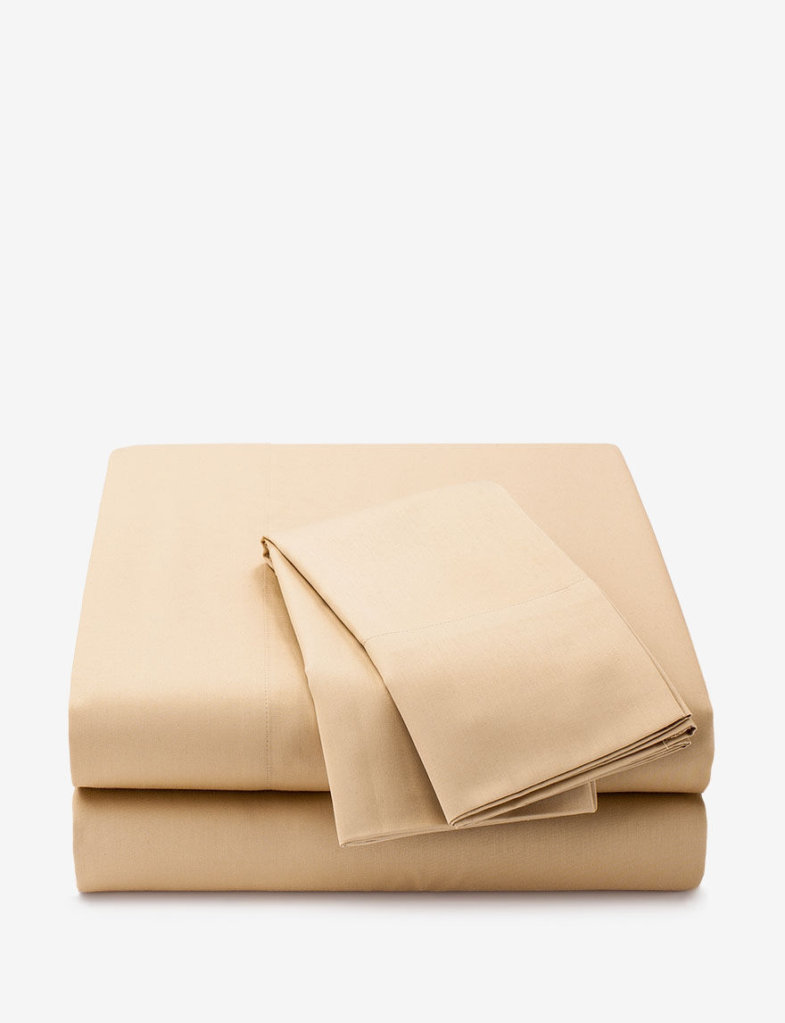 Great Hotel Collections Beige Sheets & Pillowcases