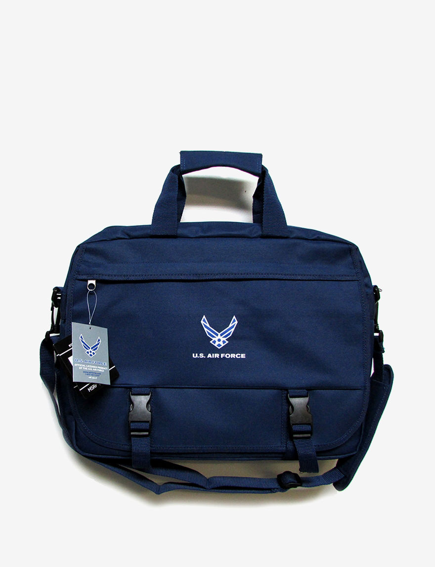 Licensed Navy Laptop & Messenger Bags