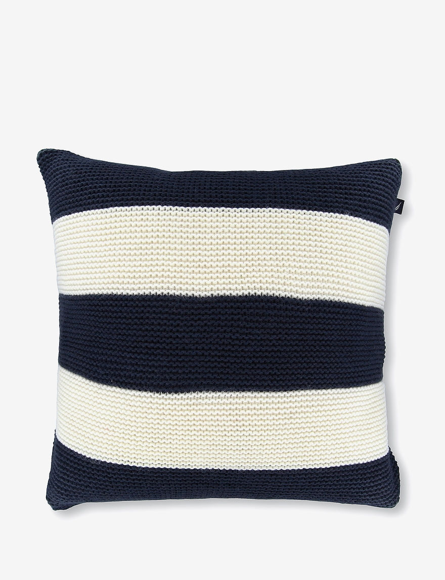 Nautica Navy Decorative Pillows