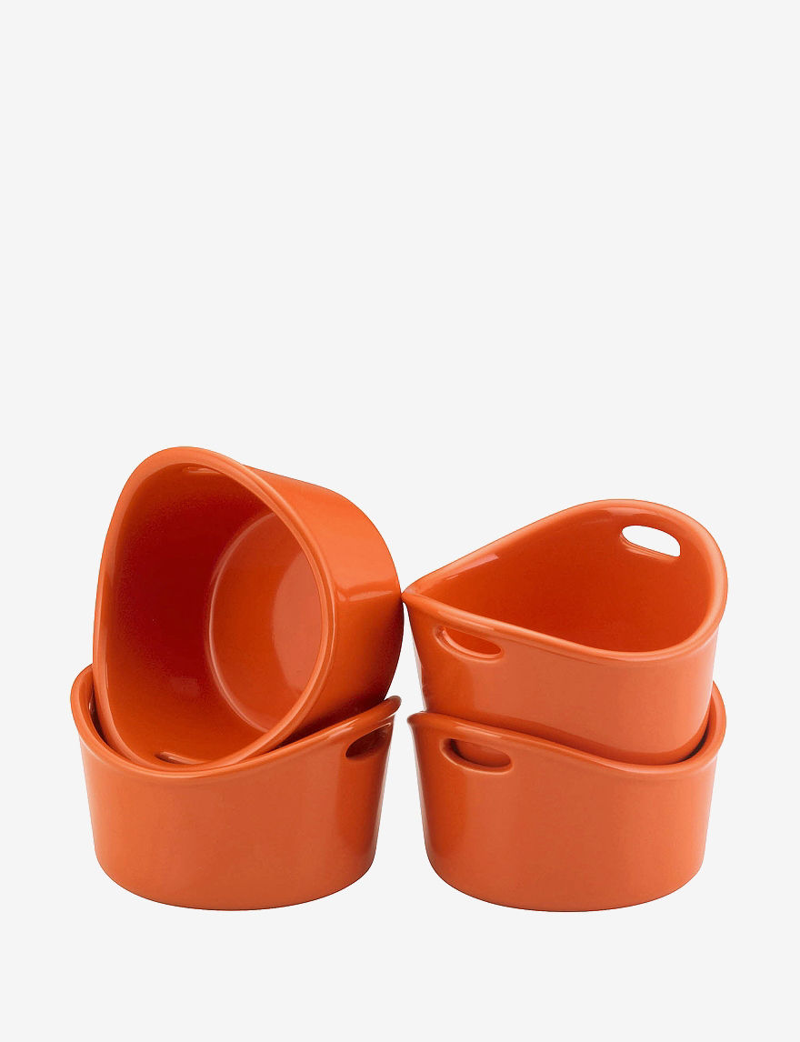 Rachael Ray Orange Baking & Casserole Dishes Bakeware Cookware
