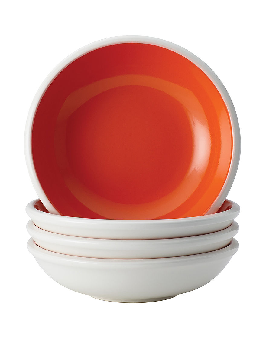 Rachael Ray Orange Bowls Dinnerware