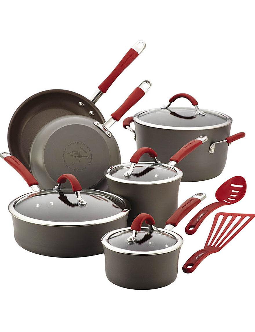 Rachael Ray Red Cookware Sets Cookware