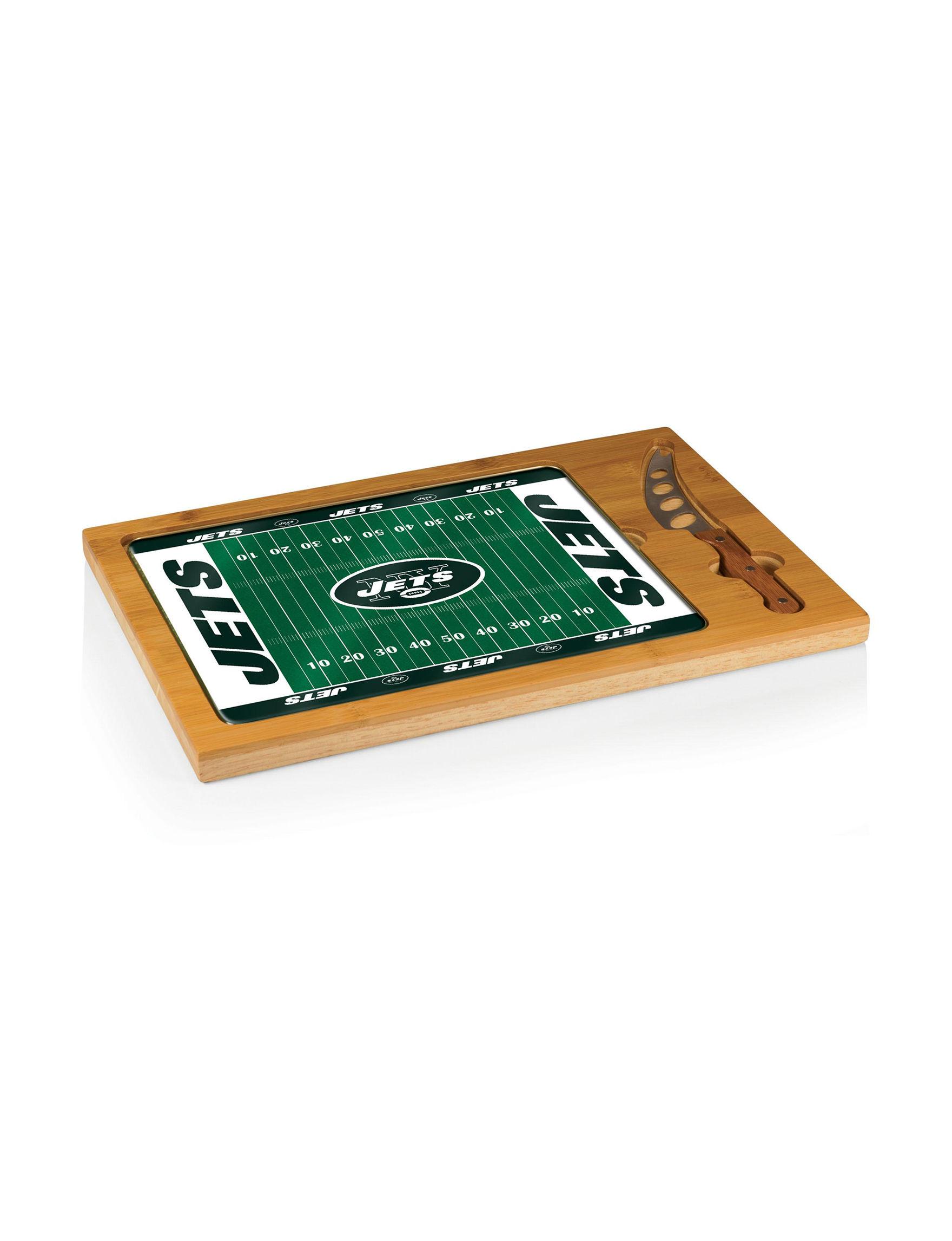 Picnic Time Natural Cutting Boards Trays & Jars Prep & Tools Serveware