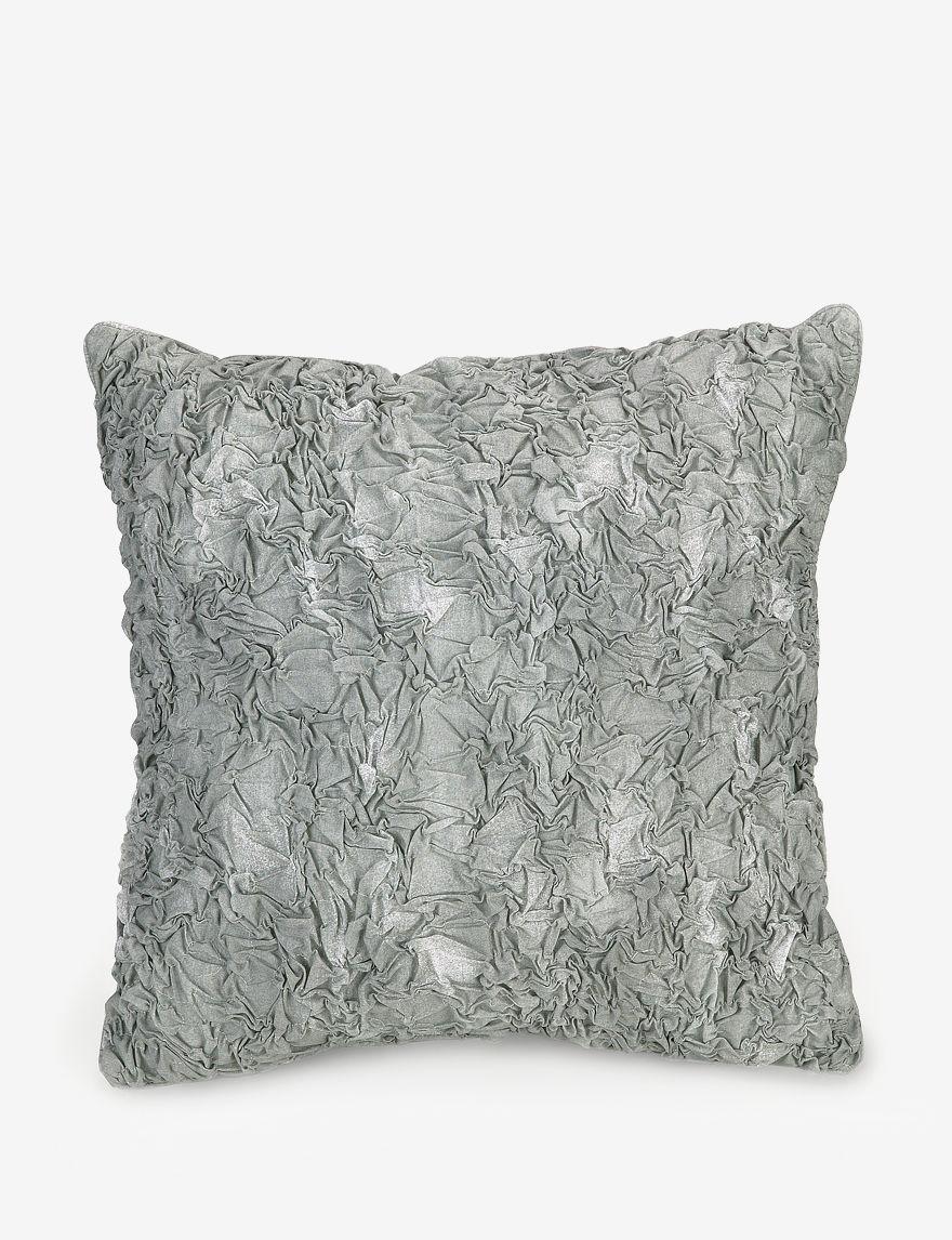 Jessica Simpson Grey Decorative Pillows
