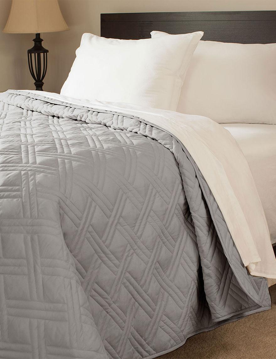 Lavish Home Silver Quilts & Quilt Sets