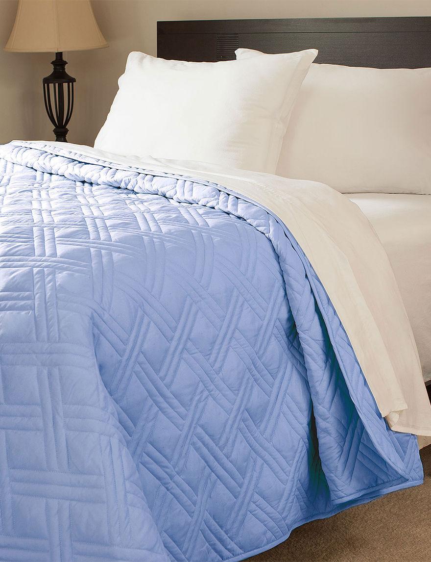 Lavish Home Blue Quilts & Quilt Sets
