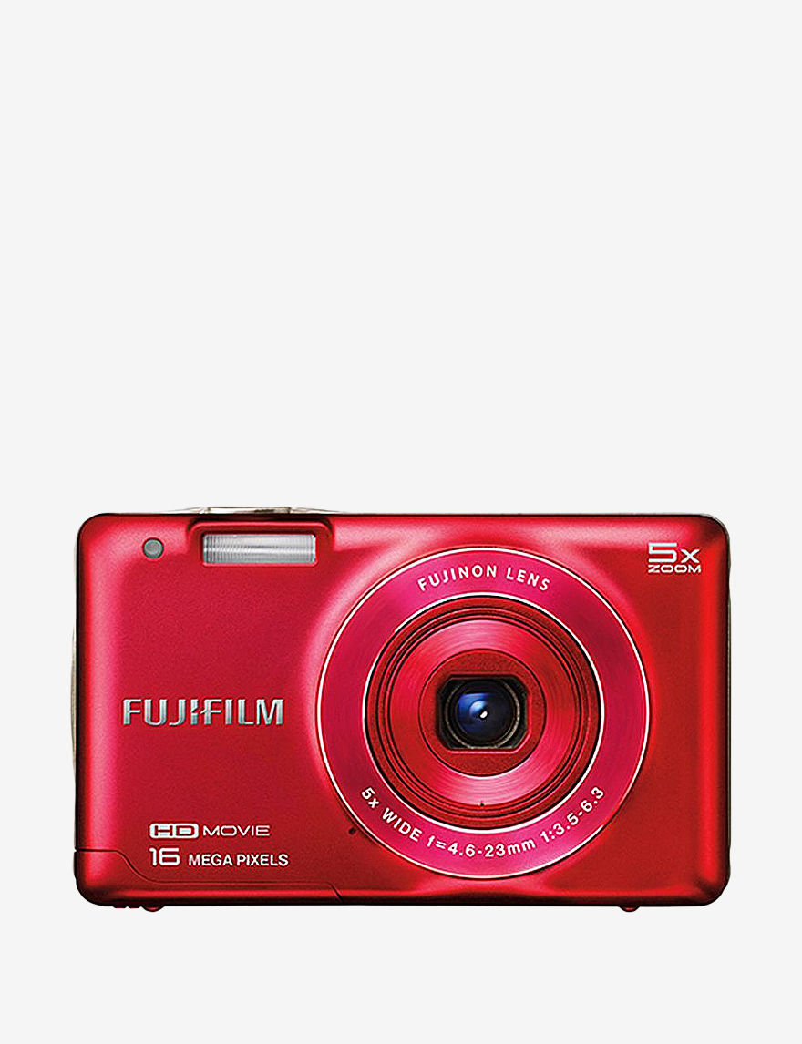 Fujifilm FinePix JX660 Red 16 Megapixel Digital Camera - - Fujifilm