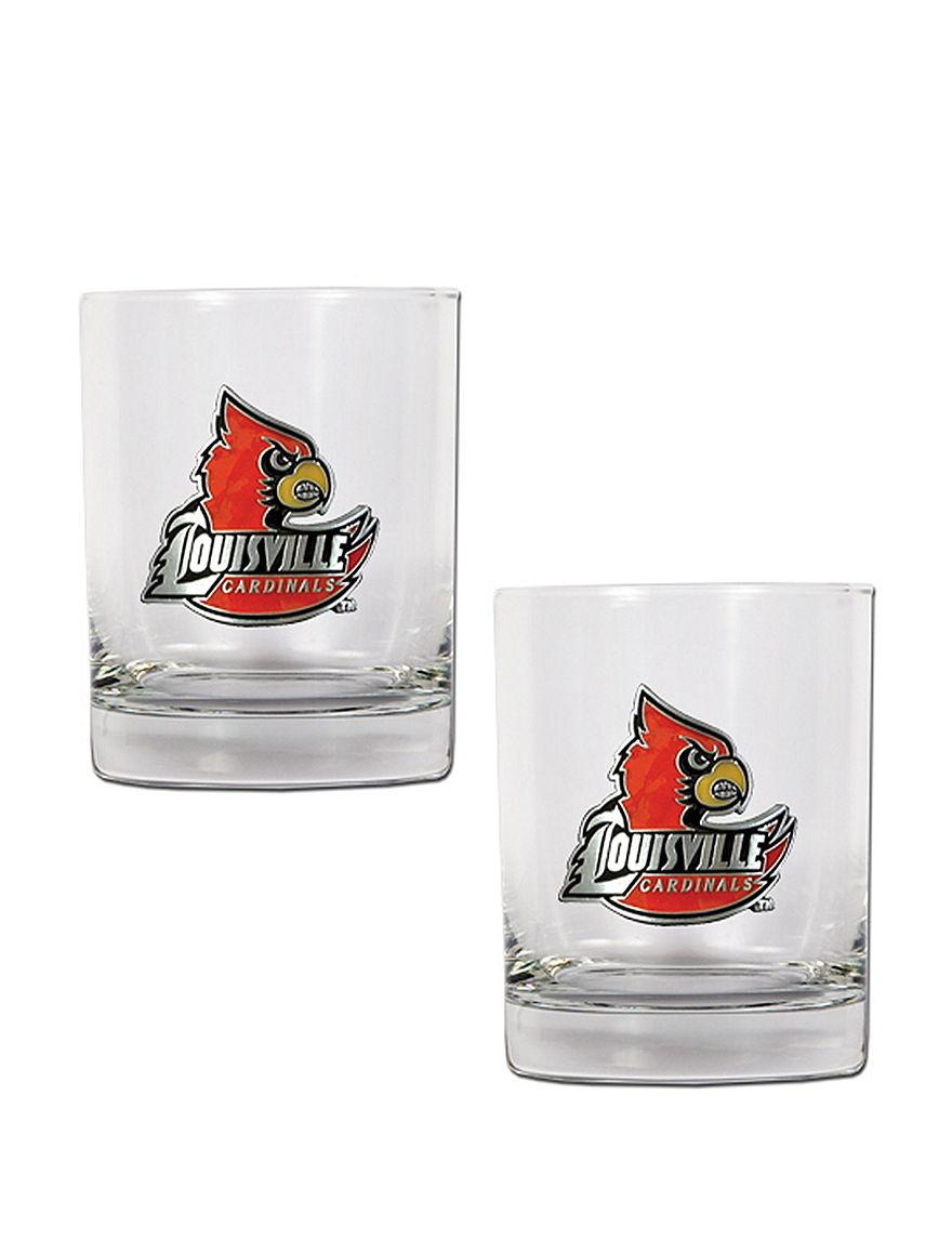 NCAA Clear Drinkware Sets