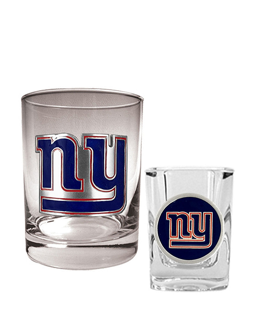 NFL Clear Cocktail & Liquor Glasses Drinkware Sets Drinkware