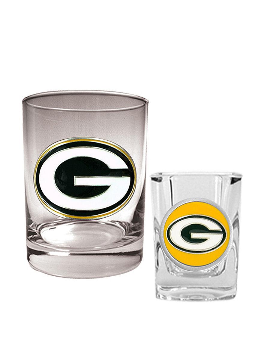 NFL Clear Cocktail & Liquor Glasses Drinkware Sets Drinkware