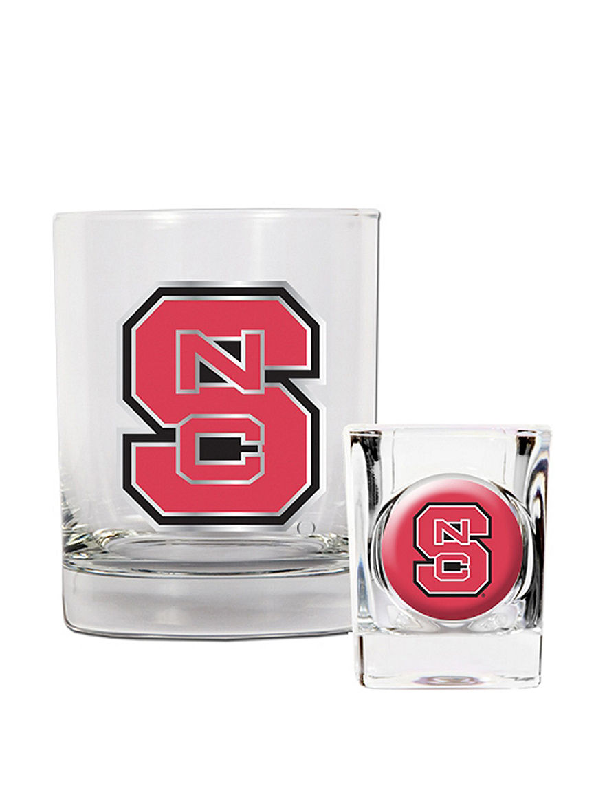 NCAA Clear Cocktail & Liquor Glasses Drinkware Sets Bar Accessories Drinkware