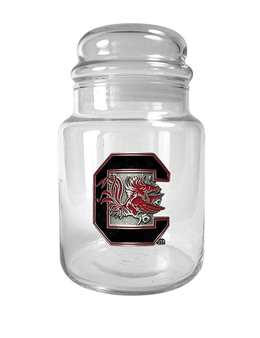 NCAA Clear Food Storage Trays & Jars Kitchen Storage & Organization