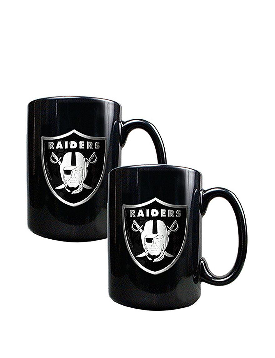 NFL Black Drinkware Sets Mugs Drinkware