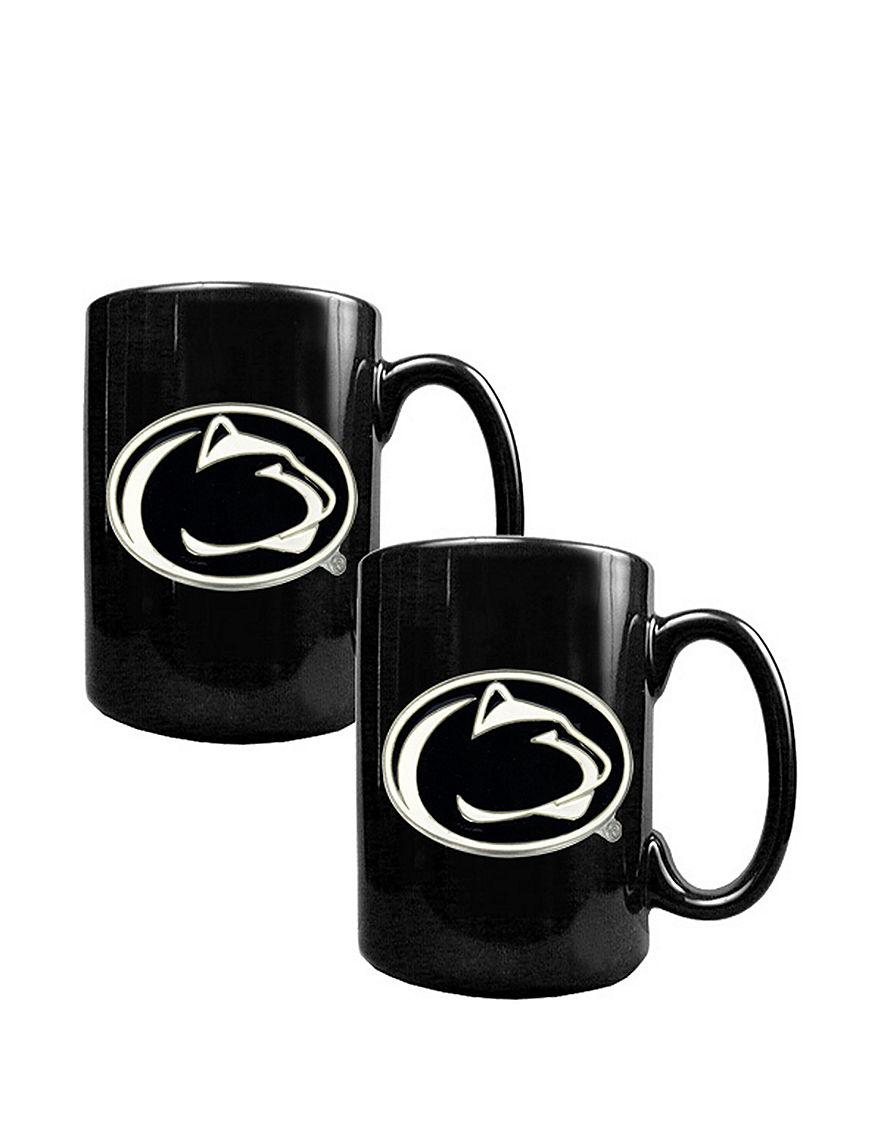 NCAA Black Drinkware Sets Mugs Drinkware