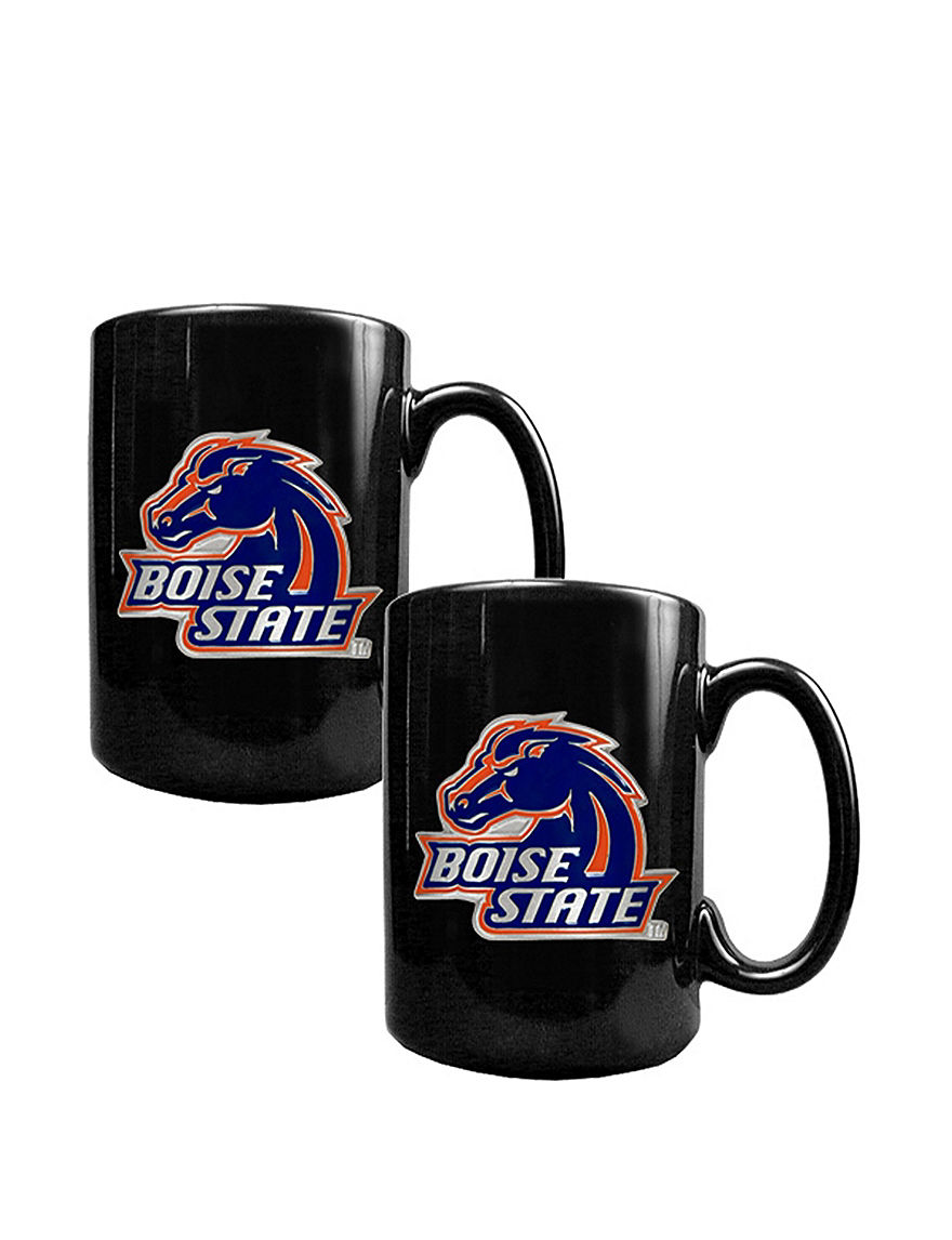 NCAA Black Dinnerware Sets Mugs
