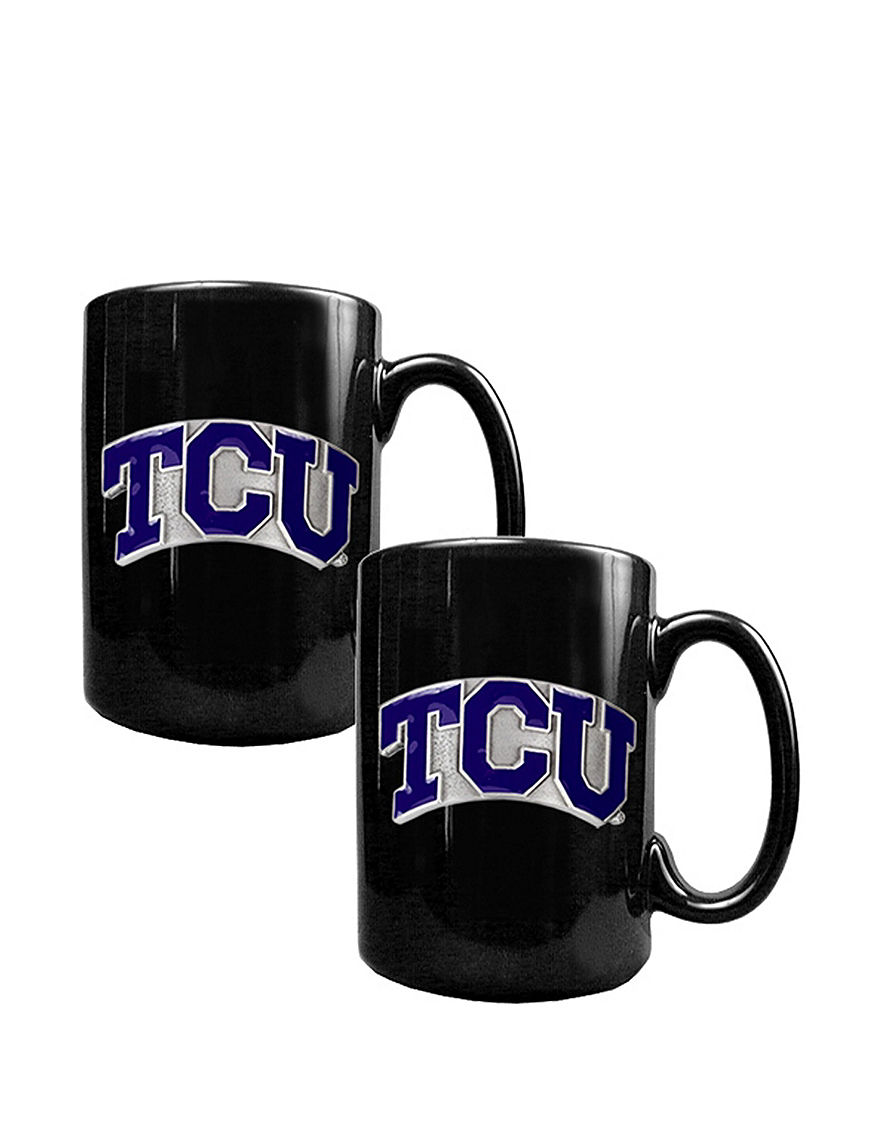 NCAA Black Drinkware Sets Mugs Drinkware