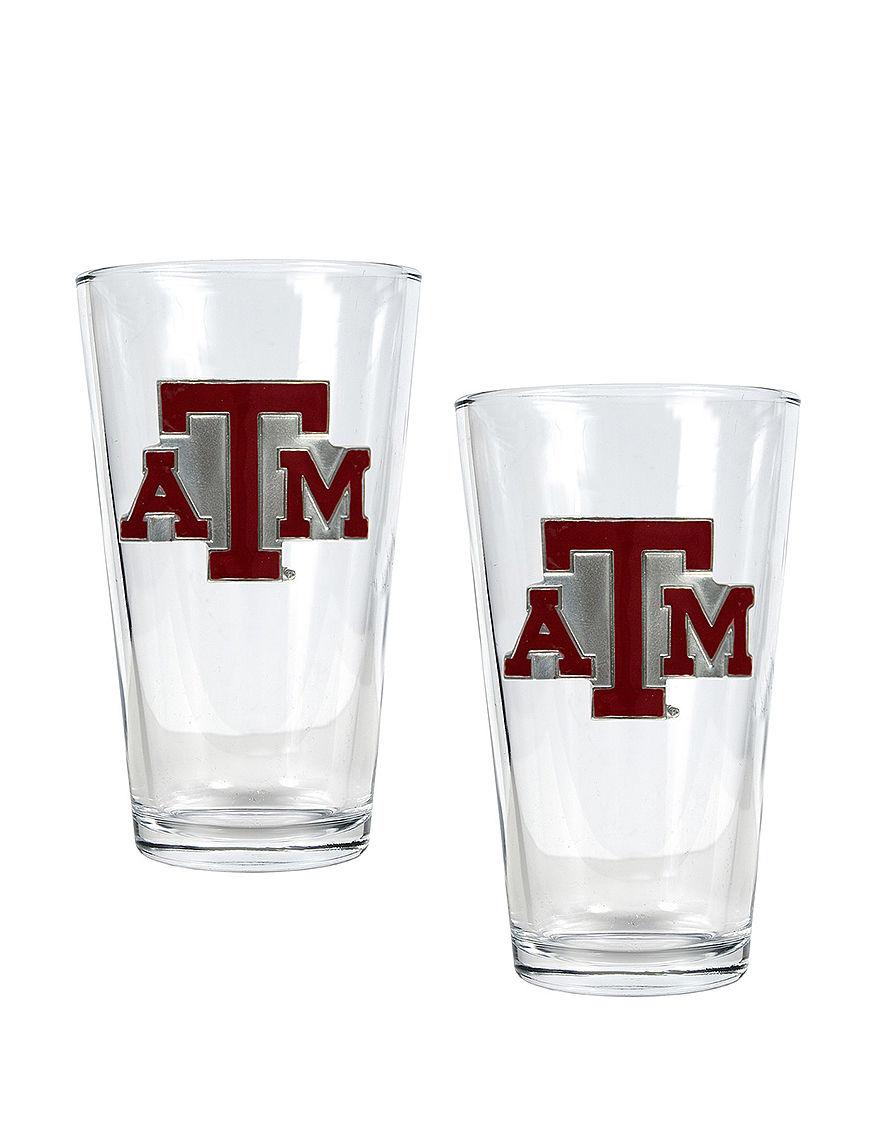 NCAA Clear Beer Glasses Drinkware Sets Everyday Cups & Glasses Drinkware