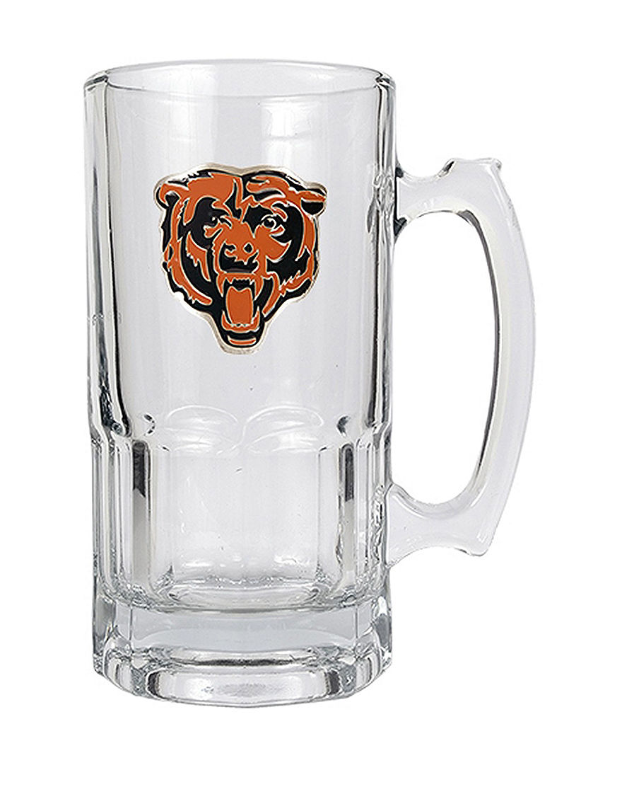 NFL Clear Beer Glasses Drinkware Sets Mugs Drinkware