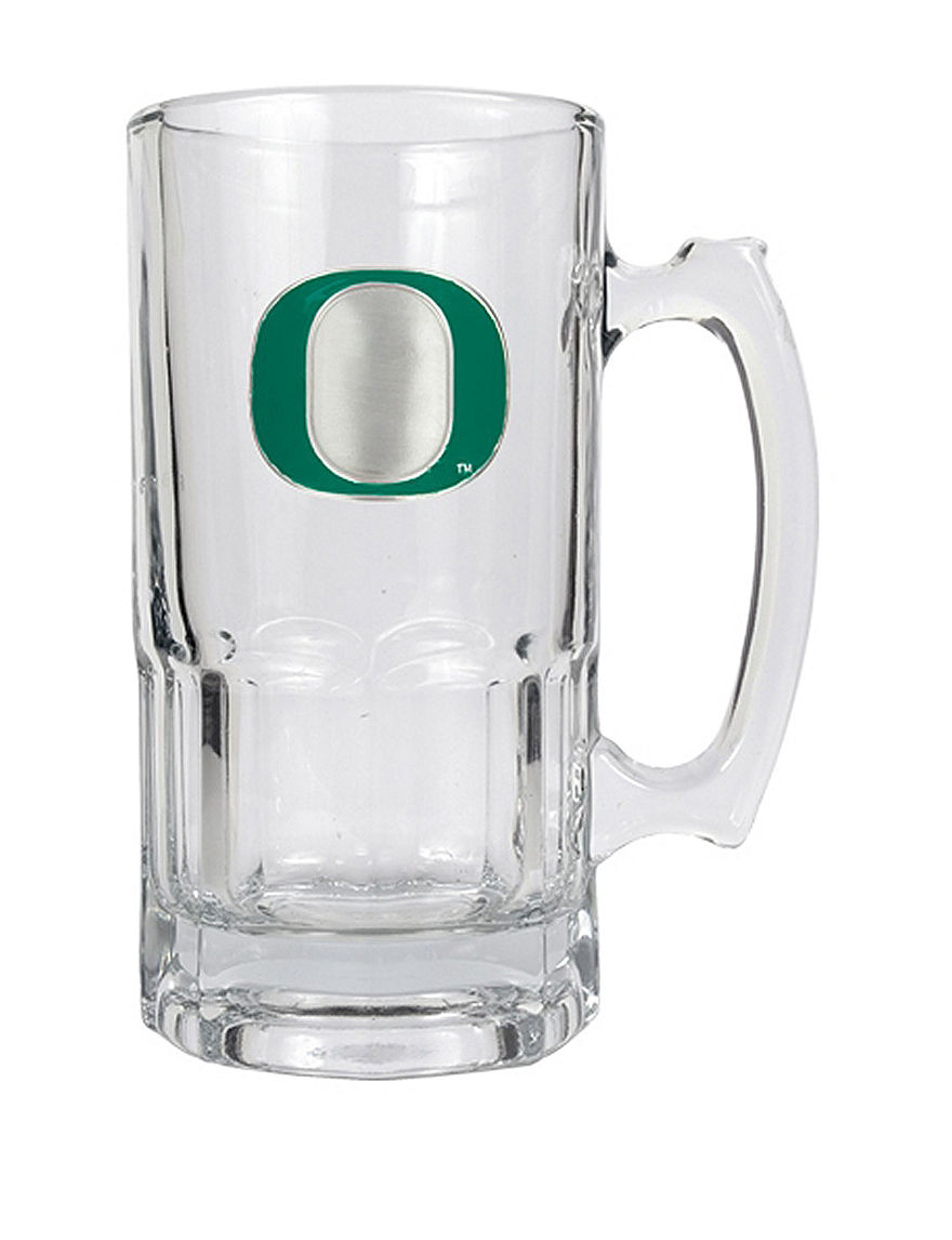 NCAA Clear Beer Glasses Mugs Drinkware