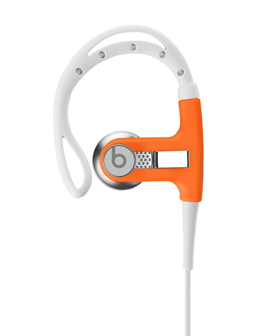 Beats by Dre Powerbeats Earphones - CLOSEOUT! - Orange - Beats by Dre