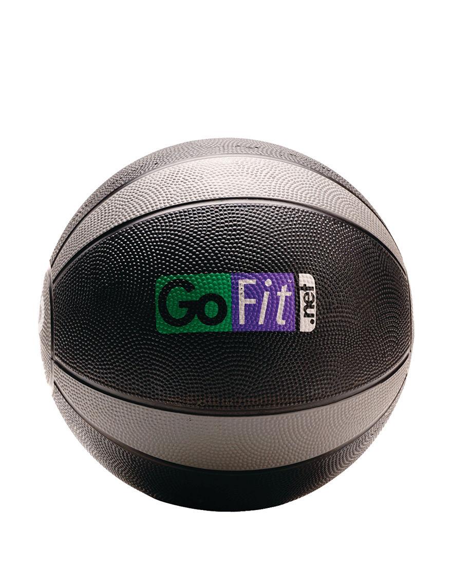 GOFIT Black / Grey Fitness Equipment