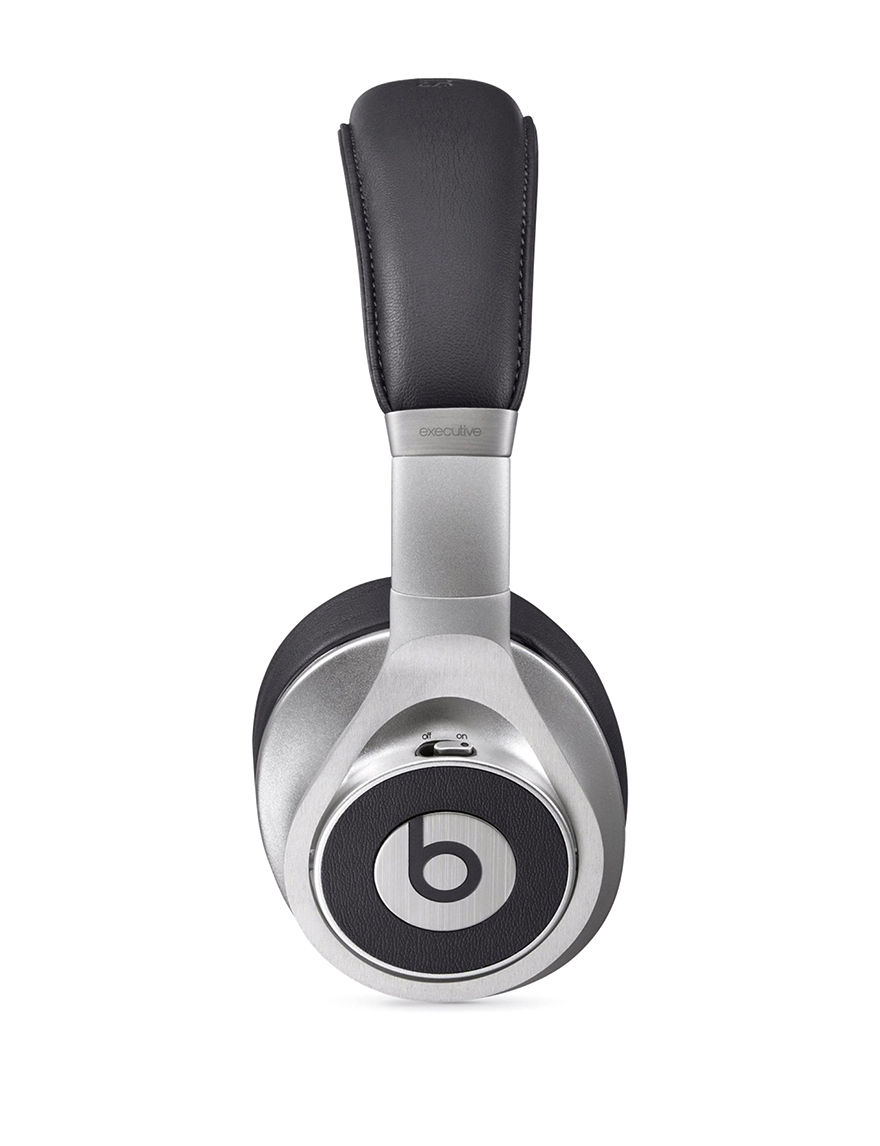 Beats By Dre Beats Executive Wired On-the-Ear Headphones - CLOSEOUT! - Black / Silver - Beats by Dre