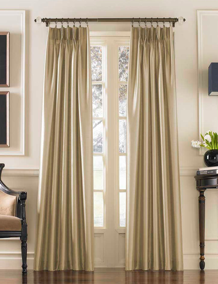 Curtain Works Sand Curtains & Drapes Window Treatments