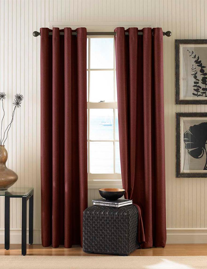 Curtain Works Cinnamon Curtains & Drapes Window Treatments