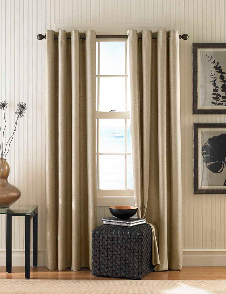 Curtain Works Khaki Window Treatments
