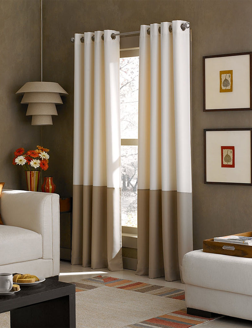 Curtain Works Ivory Curtains & Drapes Window Treatments