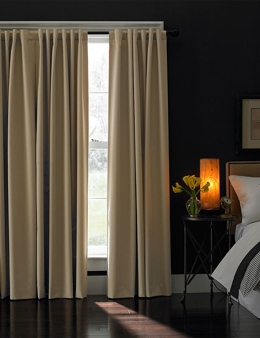 Curtain Works Khaki Curtains & Drapes Window Treatments
