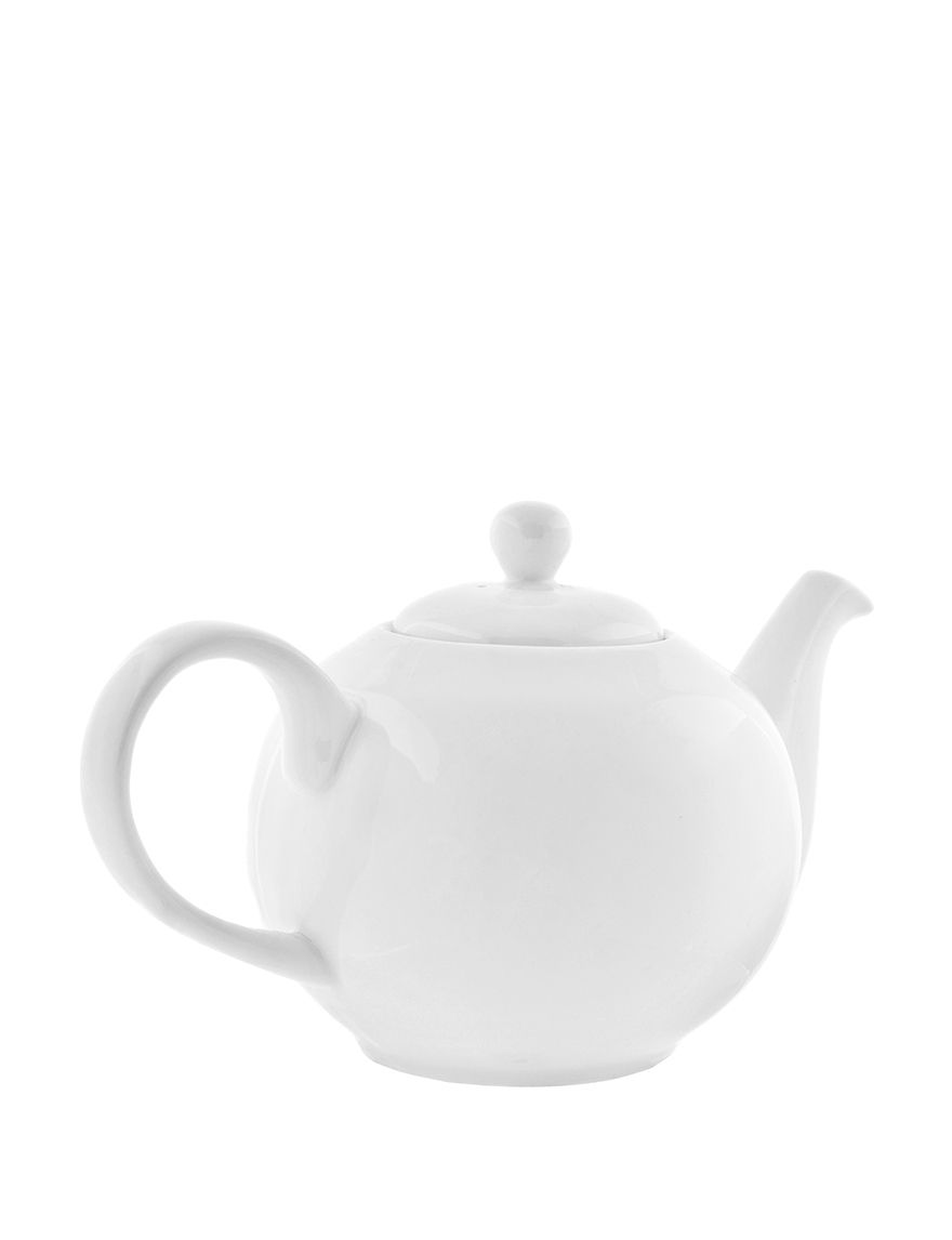 10 Strawberry Street White Teapots Serveware