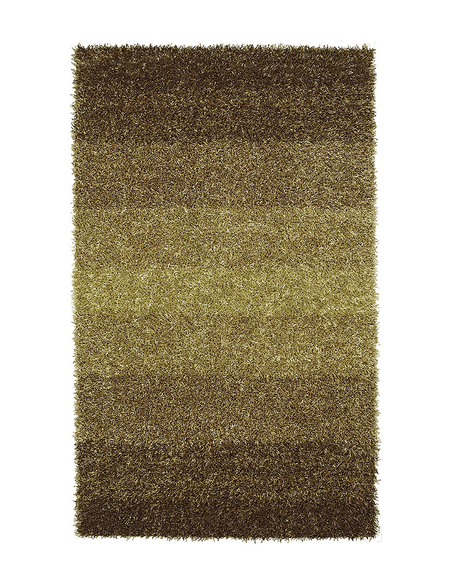 Dalyn Rugs Spectrum Collection Lime Cord Shag Area Rug
